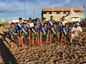 futebol areia